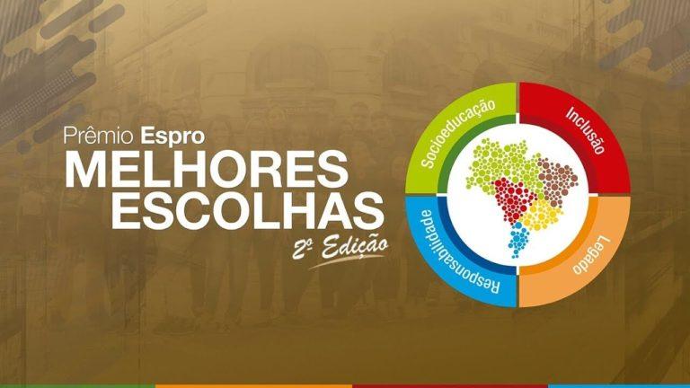Prêmio Espro Melhores Escolhas 2ª edição