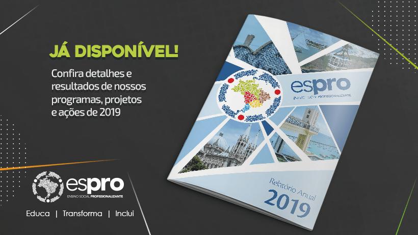 Espro divulga o seu Relatório Anual de 2019