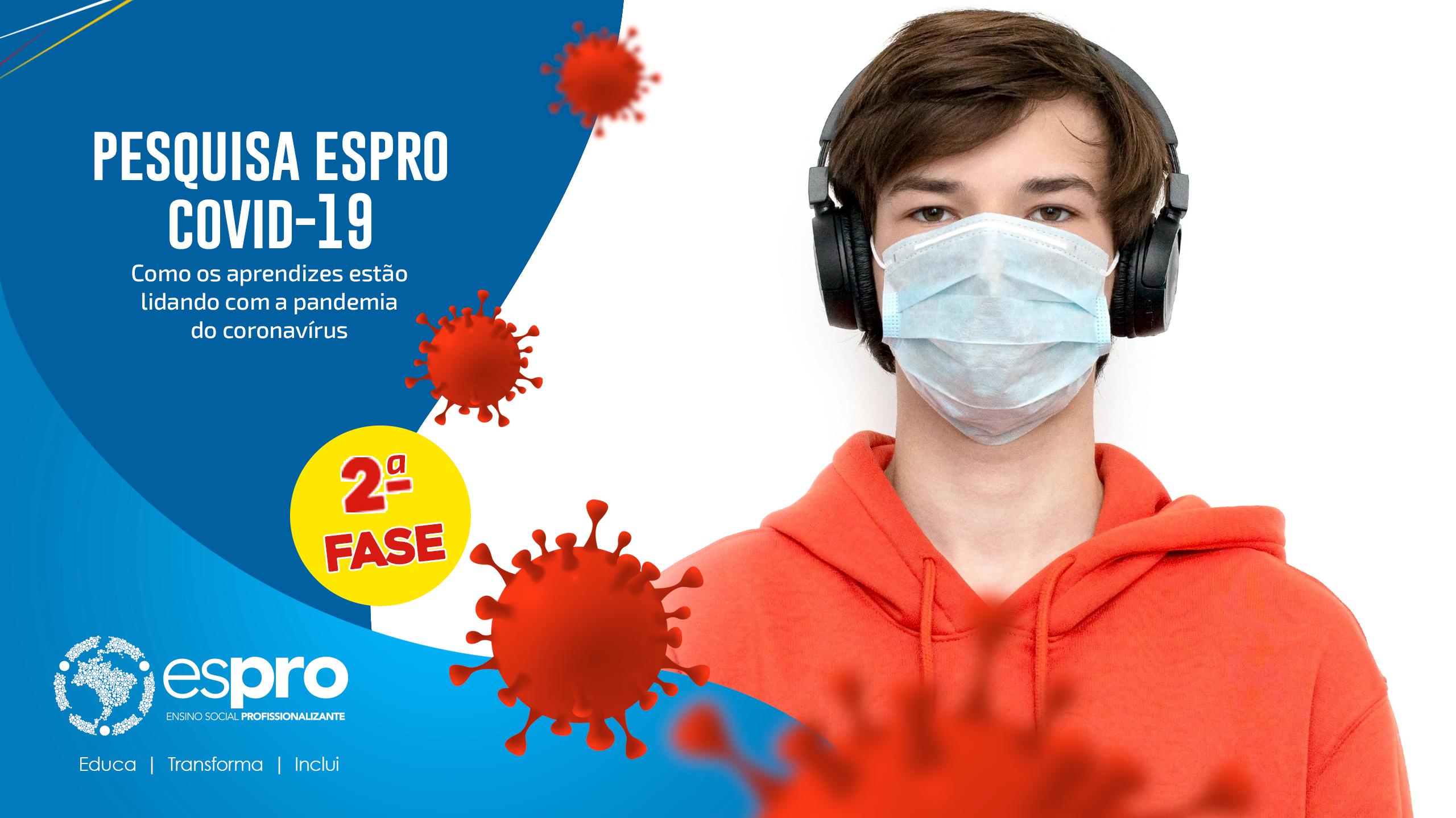 Pandemia afeta aprendiz Espro com queda de renda e suspensão de contratos