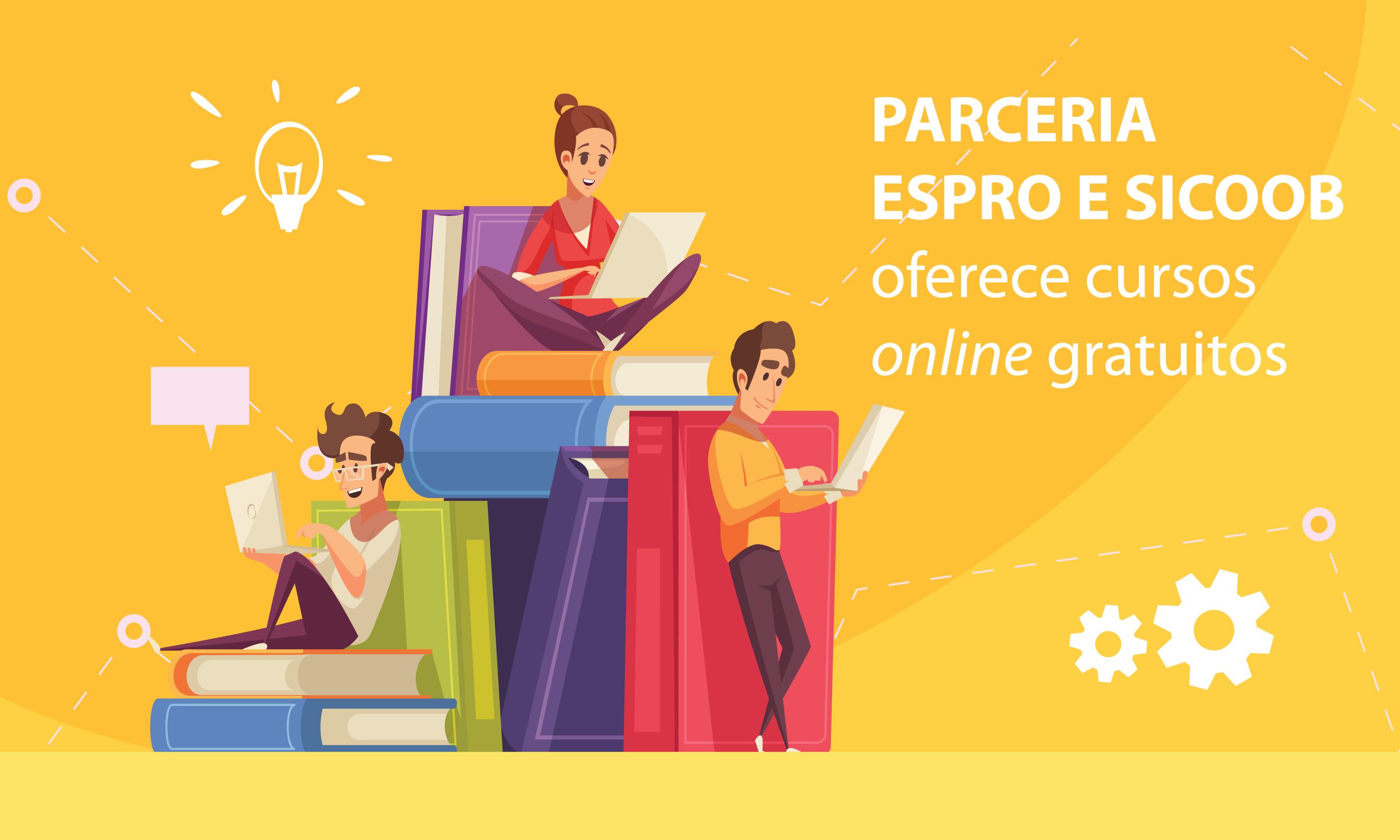 Parceria entre Espro e Sicoob beneficia aprendiz e colaborador com cursos de qualificação