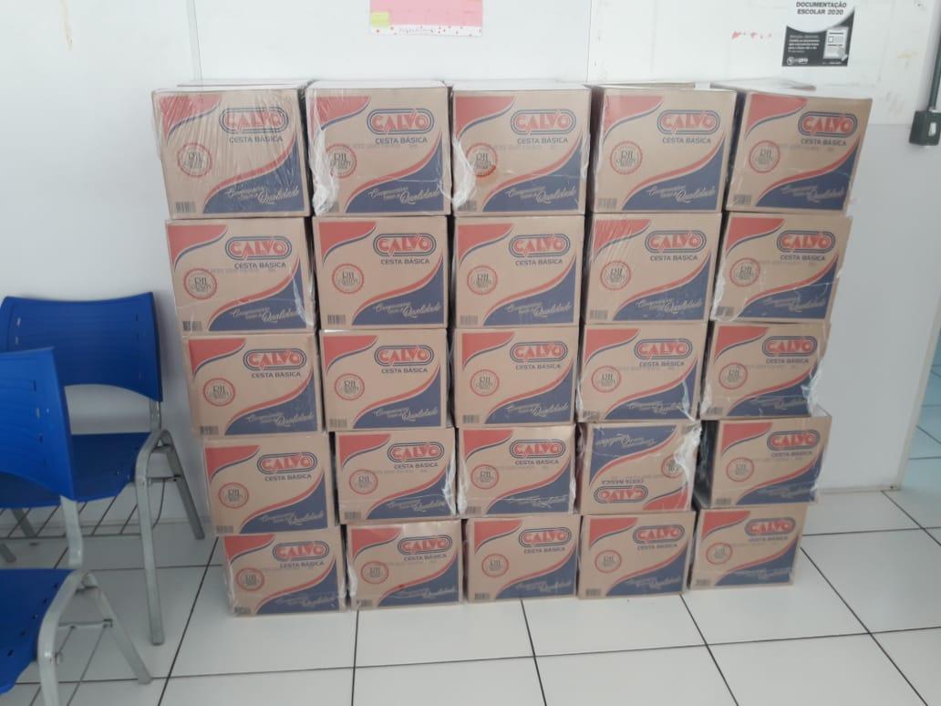 Espro beneficia famílias de Osasco com distribuição de cestas básicas