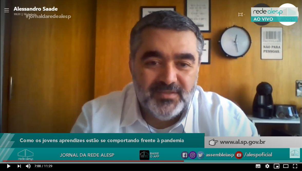 Jornal da Alesp destaca pesquisa realizada pelo Espro