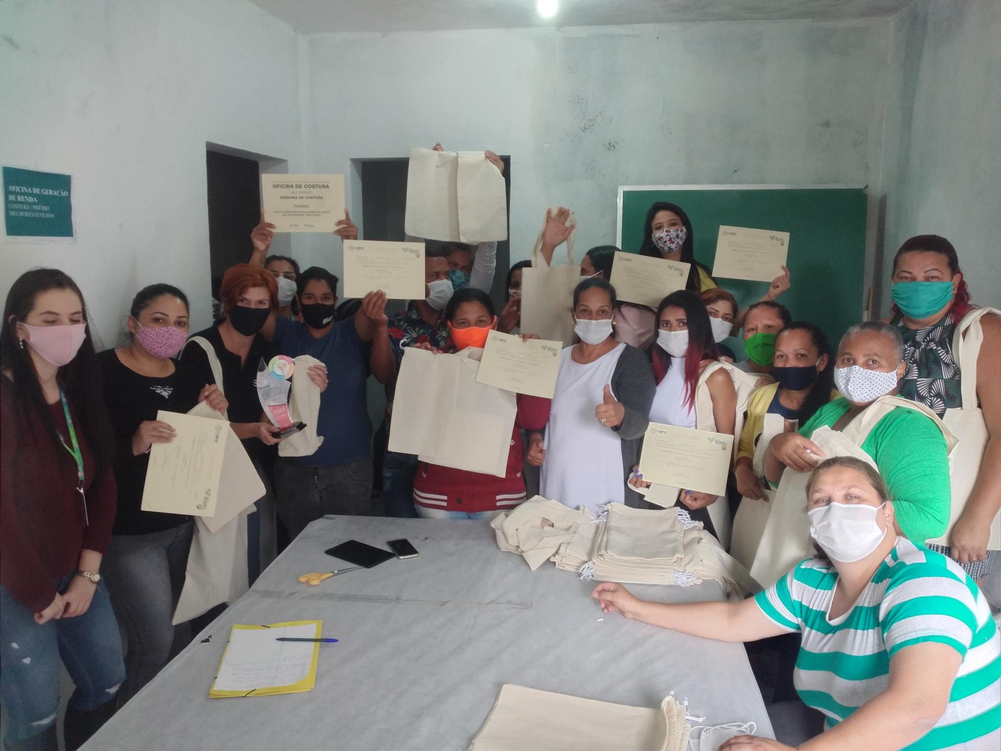 Espro realiza primeira oficina de geração de renda presencial na pandemia