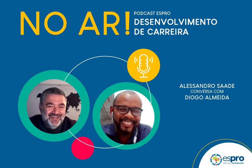 Podcast Espro 2020 com novo episódio sobre Desenvolvimento Profissional