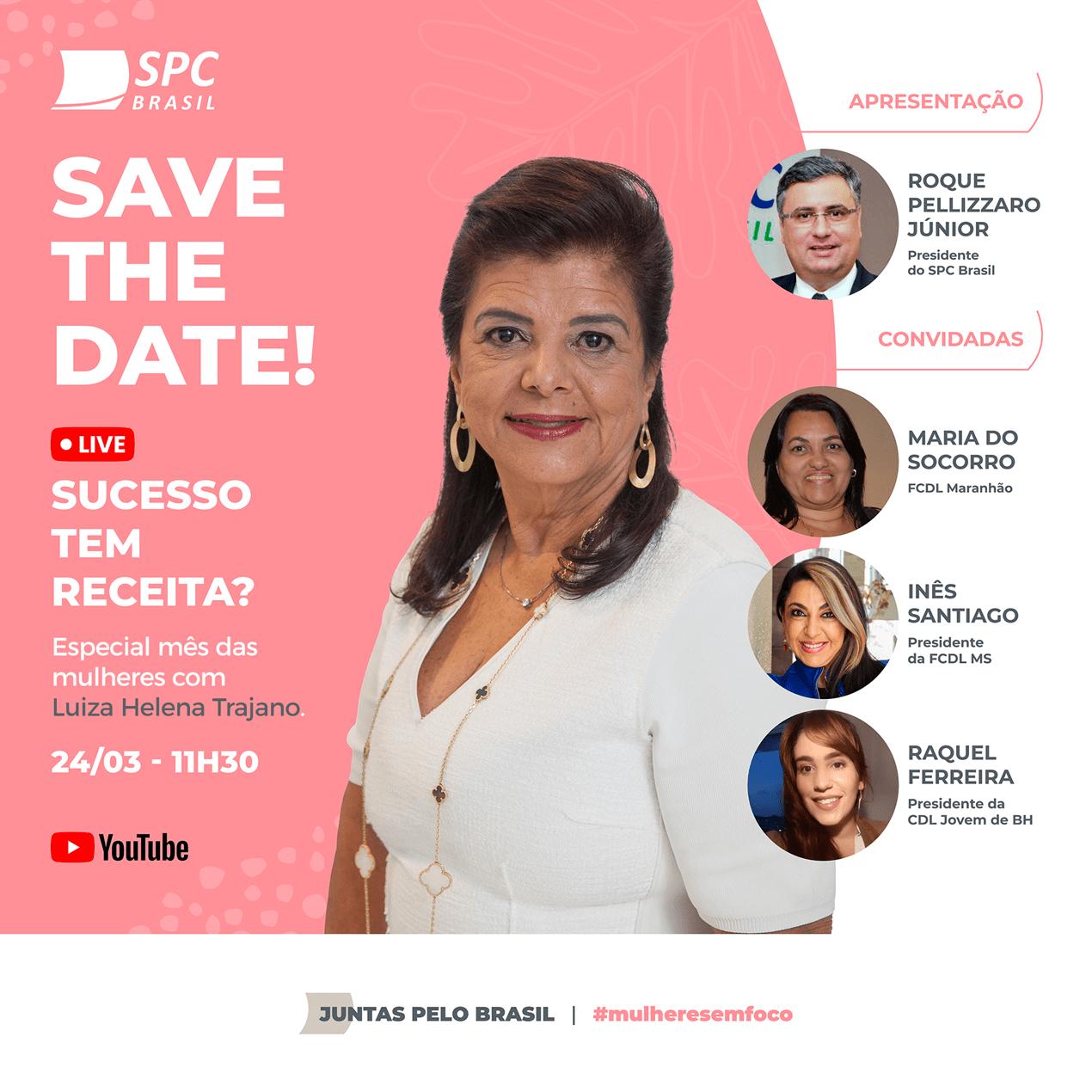 Espro indica | SPC Brasil realizará live em comemoração ao mês das mulheres